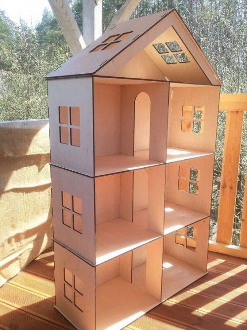Cómo Hacer Una Bonita Casa De Muñecas Planos