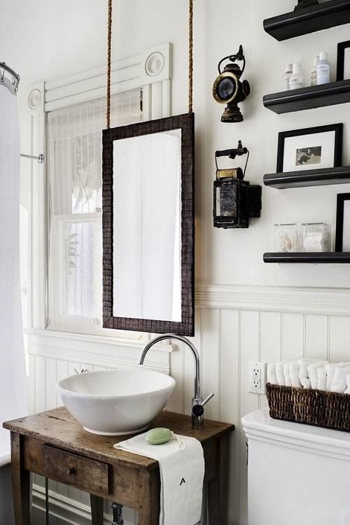 vintageidea-decoracion-banos-blanco-madera-detalles-vintage