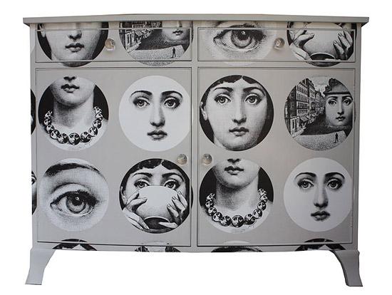 muebles empapelados