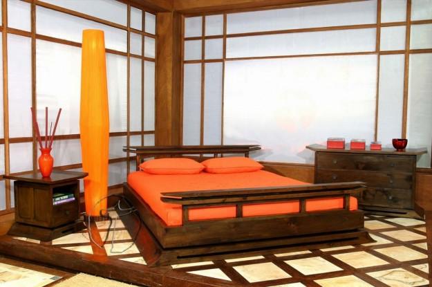camera-con-letto-in-legno