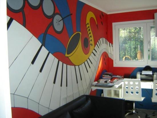 dormitorios amantes de la musica