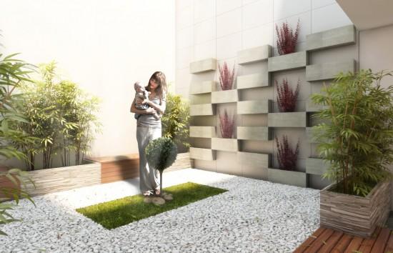 jardines interioresrior-verde