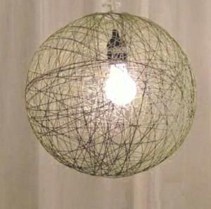 lampara de hilo