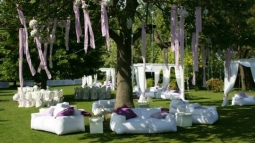living de jardin casamiento