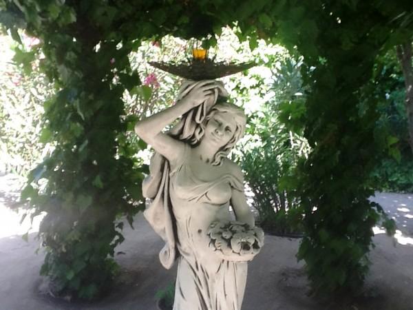 figura de jardin personalizada