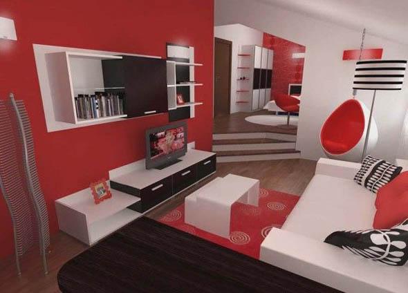 ambientes-rojo-living