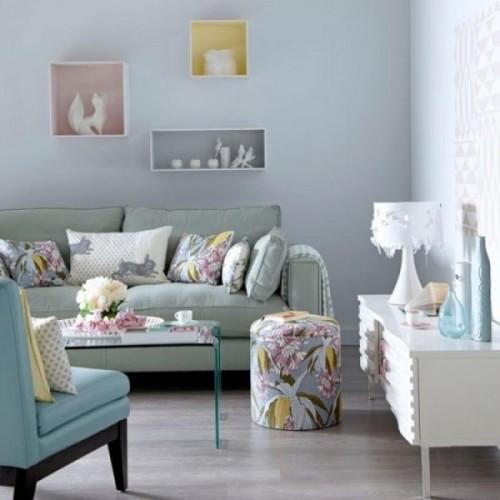 pastelDecoracion-salon-combinando-materiales-y-tonos-pastel