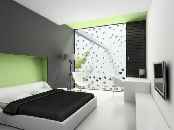 Habitacion-Minimalista-en-Blanco-con-Interiores-Frescos