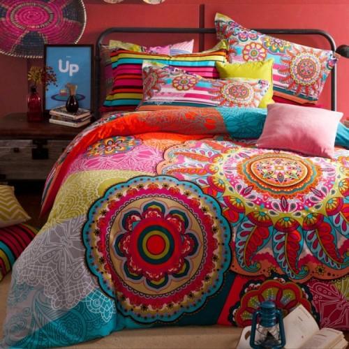 camaEdredón-de-lujo-bohemia-Bedding-Boho-del-estilo-marroquí-funda-de-edredón-de-cama-100-algodón