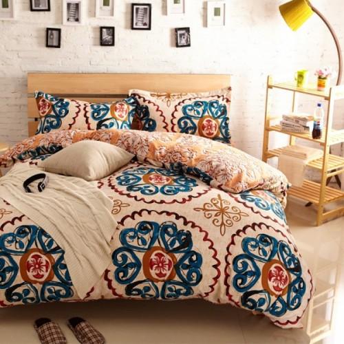 camaHight-Quality-4-unids-marca-Queen-Size-ropa-de-cama-Boho-Sets19-tipos-Duvet-Cover-Bedsheet