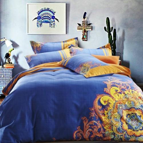 camasBoho-juegos-de-cama-queen-size-ropa-de-cama-con-patrón-oro-4-unids-conjunto-colcha