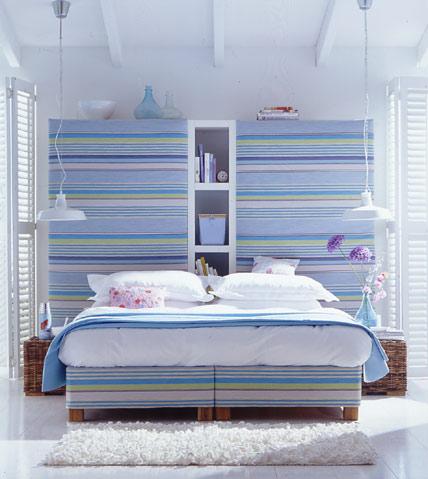 dormitorio-con-rayas