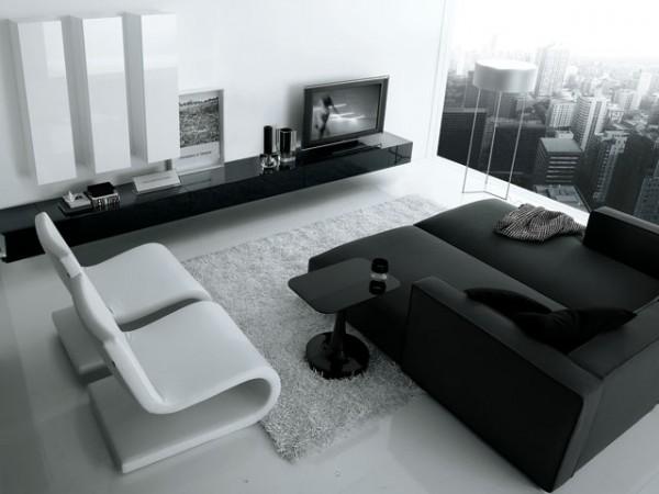 sala-minimalista-en-blanco-y-negro