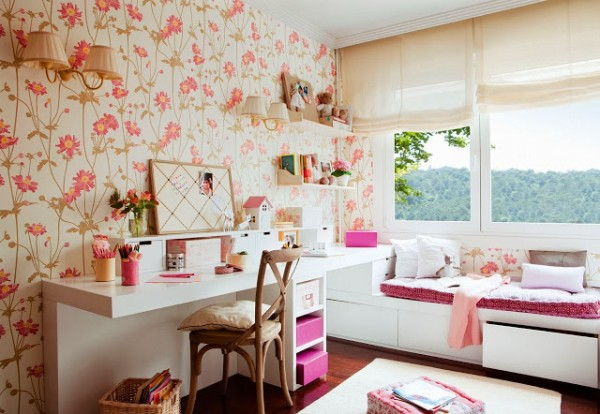 Dormitorio+con+Pared+Empalelada+Mural