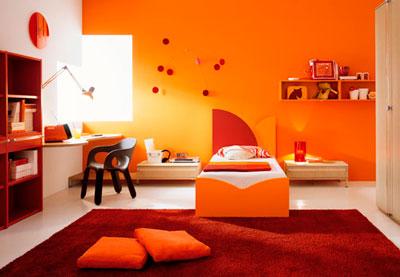 colores-dormitorio-cuarto-habitacion-infantil-naranja