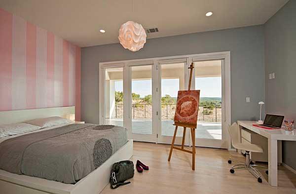 decorar-pintar-dormitorio-cuarto-habitacion-rayas-rosas-blancas