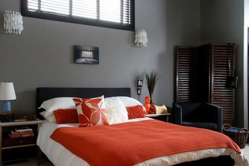 dormitorio-gris-naranja-500x333