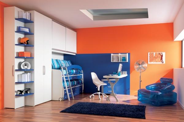 dormitorio-infantil-naranja