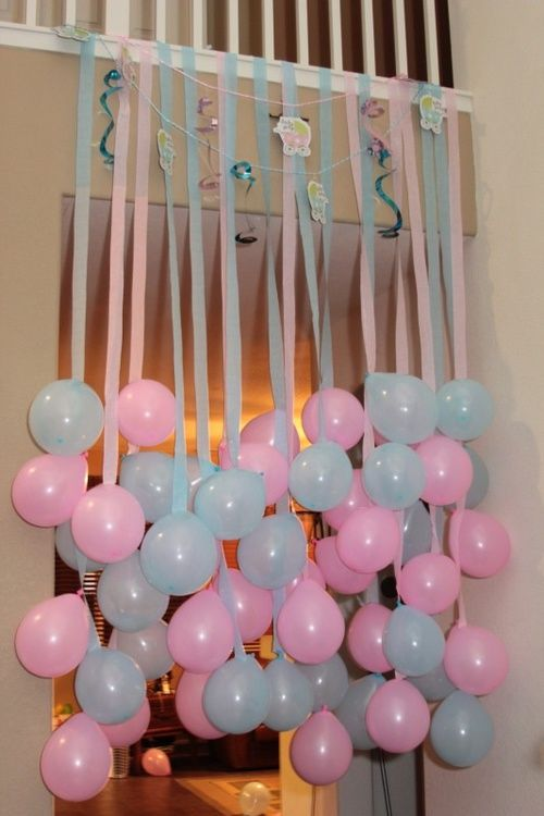 Manualidades Sencillas Para Baby Shower.Ideas De Decoracion Para Baby Shower Con Fotos