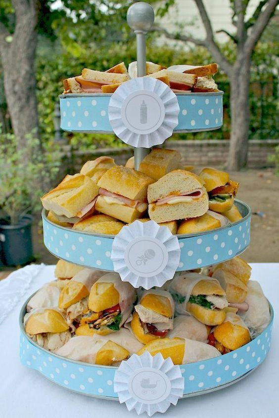 Bocaditos Para Baby Shower Originales.Ideas De Decoracion Para Baby Shower Con Fotos