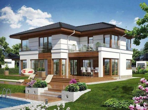 Colores de fachadas de casas modernas tendencias 2018 2019 for Casas modernas terreras