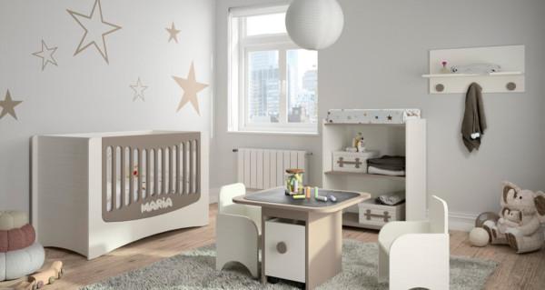 Decoraci n moderna para la rec mara del beb for Objetos decoracion habitacion bebe