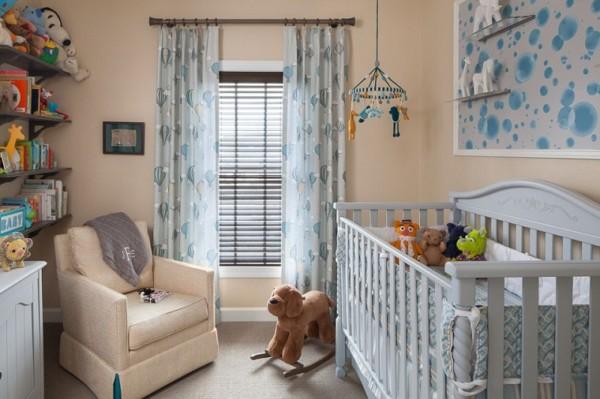 Decoraci n moderna para la rec mara del beb - Dormitorios para bebe ...